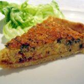Francouzský slaný koláč quiche